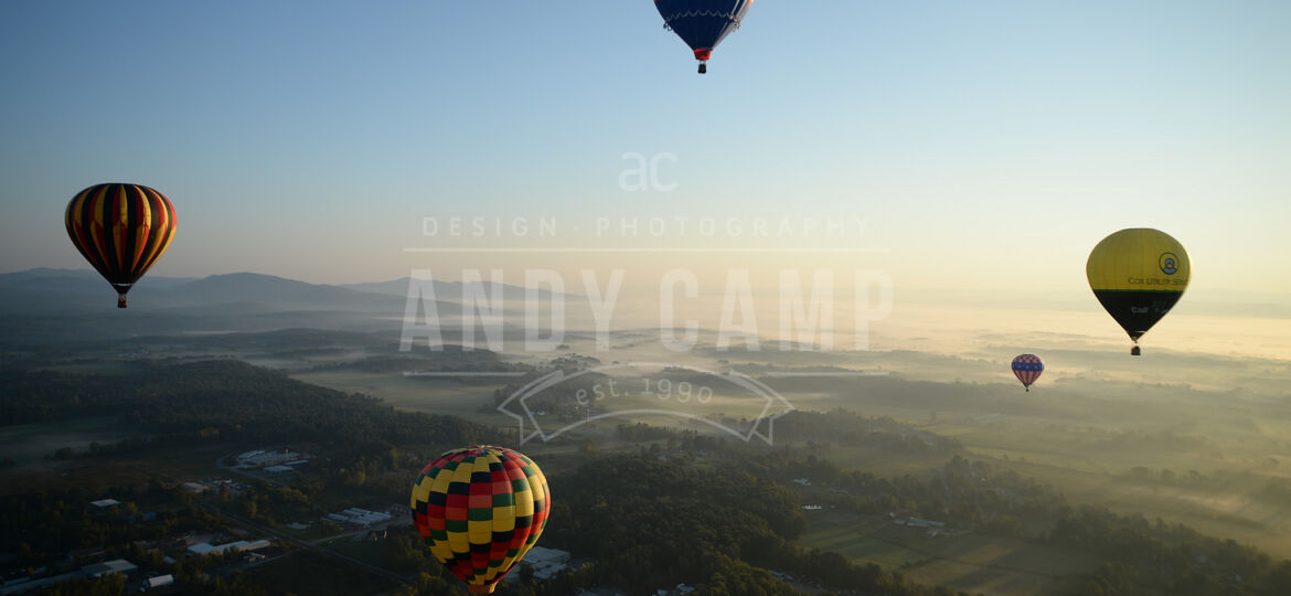 2017 Adirondack Balloon Festival by Andy Camp
