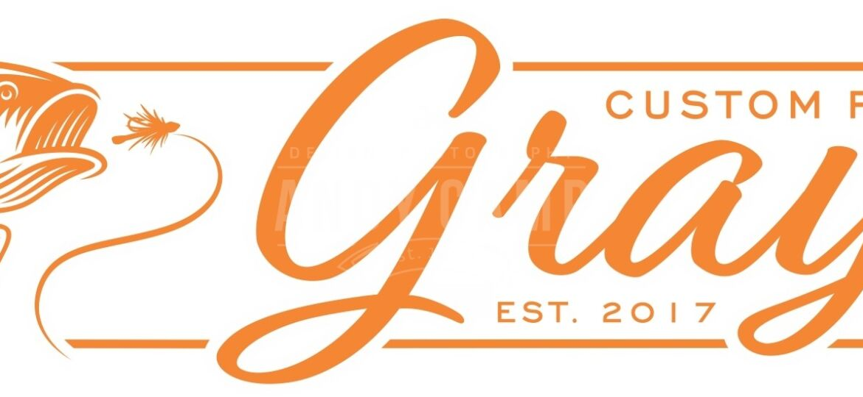 180104 Gray custom rods logo b