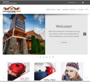 Outlet Center website