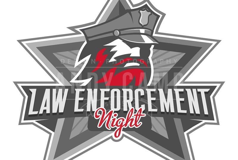 Adirondack Thunder law enforcement logo
