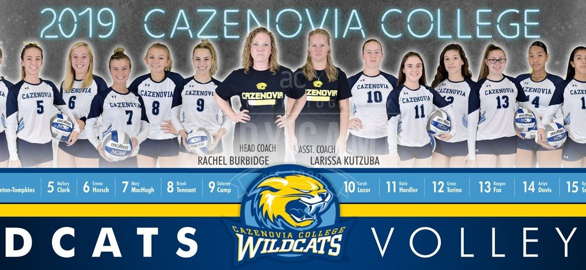 2019 Cazenovia Volleyball Poster