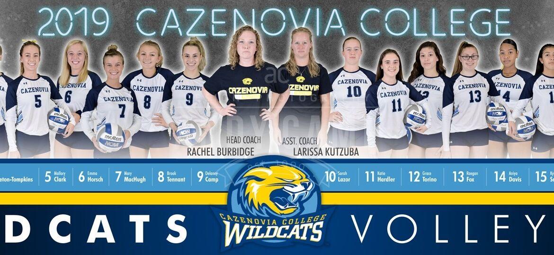 2019 Cazenovia Volleyball Poster