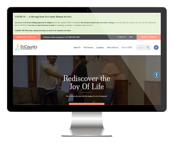 Tri-County Human Services website