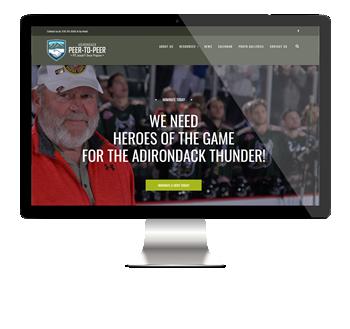 Adirondack Peer-to-peer website
