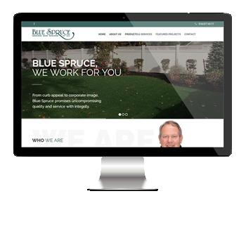 Blue Spruce Nursery Website