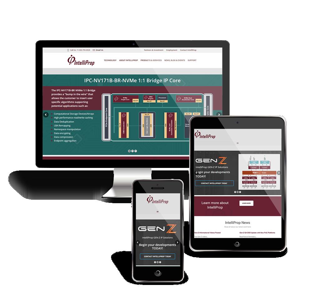 IntelliProp website