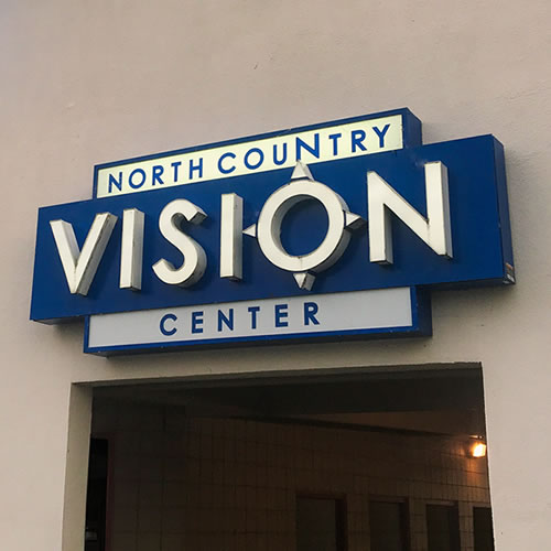 North Country Vision Center Sign