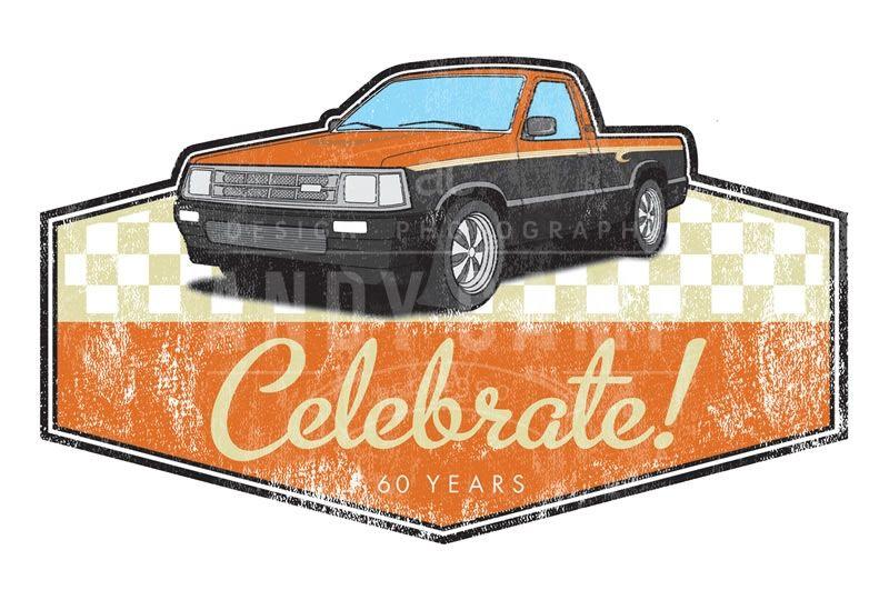Custom truck logo