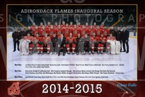 Adirondack Flames Poster