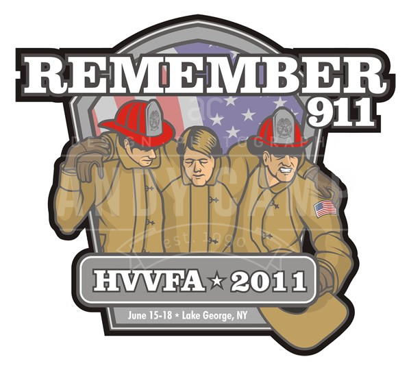 Hudson Valley Firefighter's Association Logo