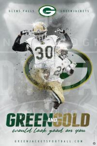 Greenjackets recruitment poster poster V3 web