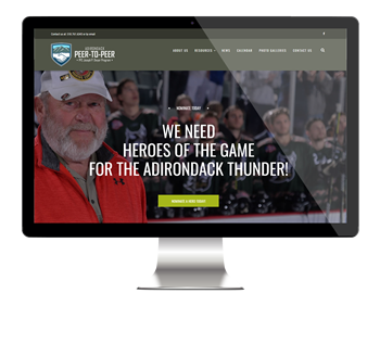 Adirondack Peer-to-peer website