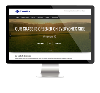 Coarvail website