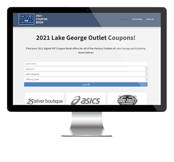 Lake George Outlet Centers online coupon site